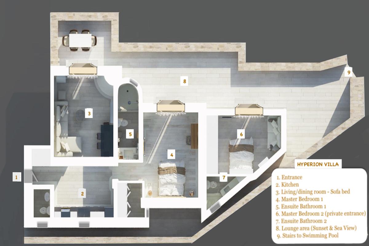 Hyperion Villa Floor Plan