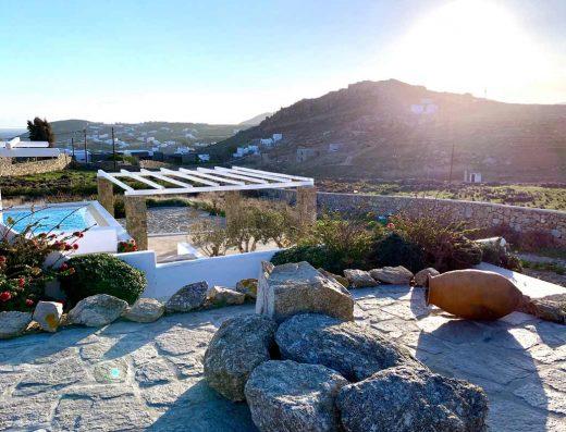 LLB Mykonos luxury villas ocean blue villa 01