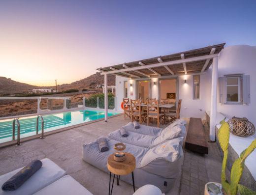 LLB Mykonos luxury villas ocean blue villa 2 Overview
