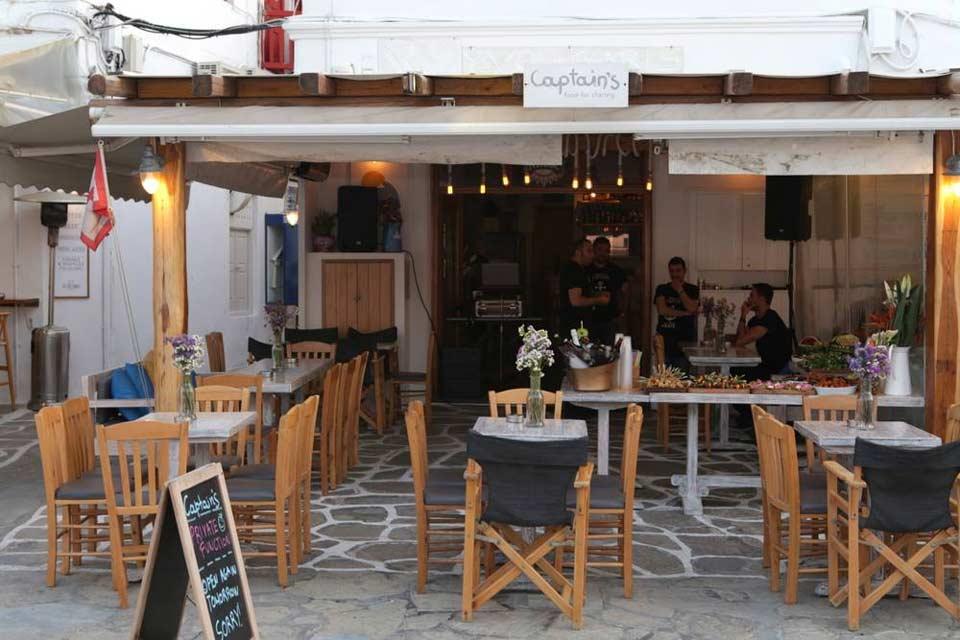 Captain's Food for Sharing | Old port Mykonos | LLB Luxury Villas & Suites